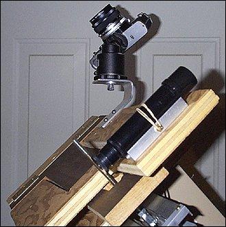 Astronomy Boy: Barn Door Tracker: Camera Platform
