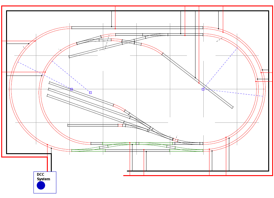 DCC_feeders dcc layout wiring diagram ho dcc track wiring \u2022 wiring diagrams circle track wiring diagram at fashall.co