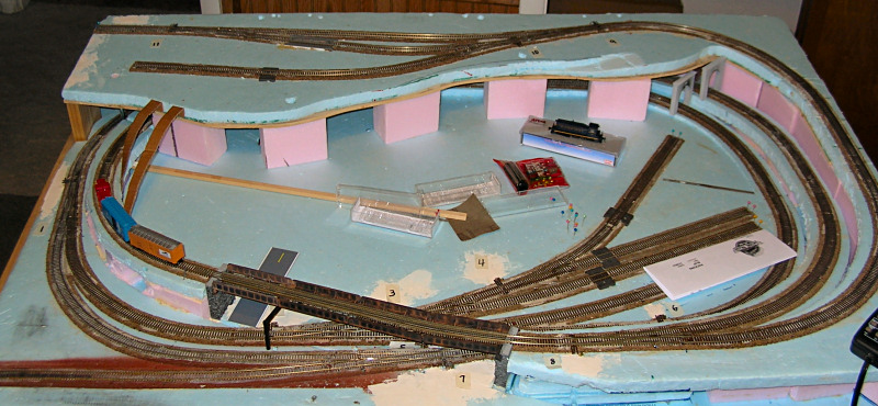 2 39 x 4 39 n scale layout the internet 39 s original - N scale train layouts small spaces paint ...